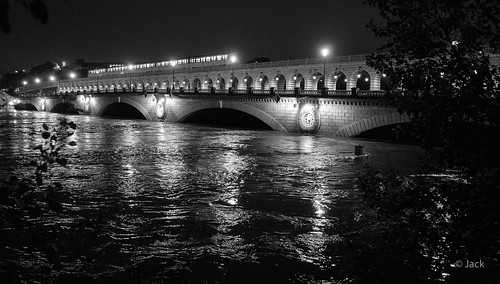 la crue et le pont de Bercy