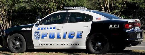Police Car in Dallas