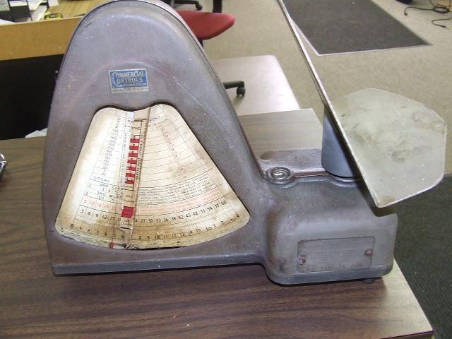 Vintage Postal Meter (1 of 5)
