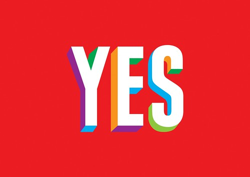 YES | by GRAPHICS DESIGNED