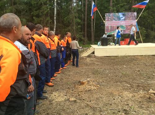 В Селивановском районе стартовал «Лесоруб-2016»