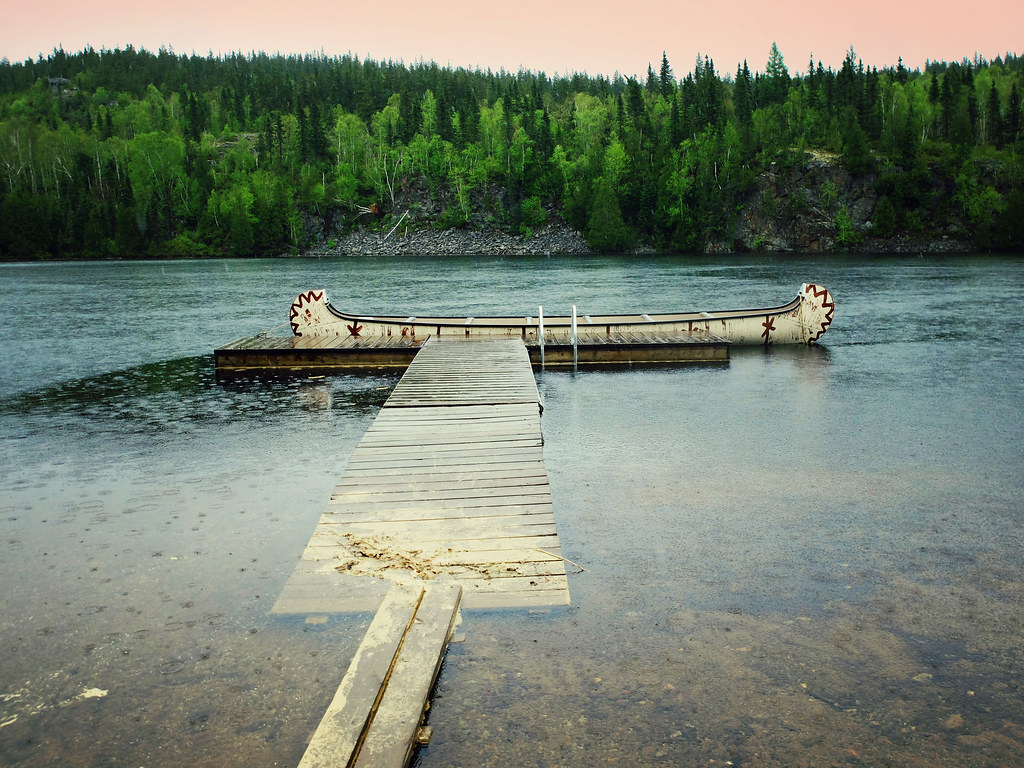 Lac du parc d'Aiguebelle en Abitibi-Témiscamingue