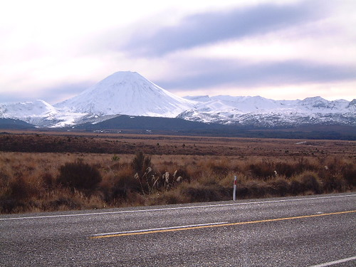 Ngauruhoe, seen from the Desert Road. | by tanetahi