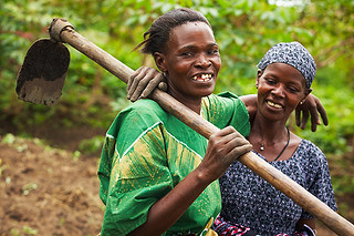 Growing Sweet Potatoes in Tanzania | by ONE.org