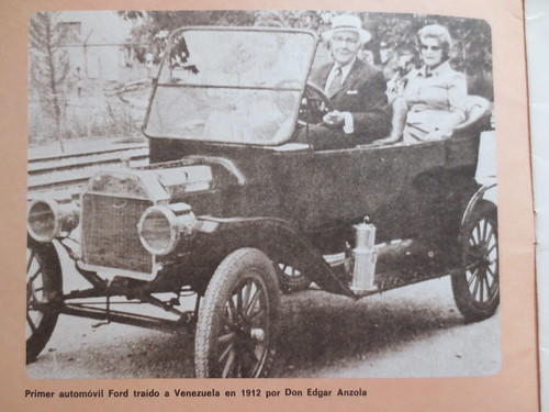 Thought to be the first Ford in Venezuela, 1912