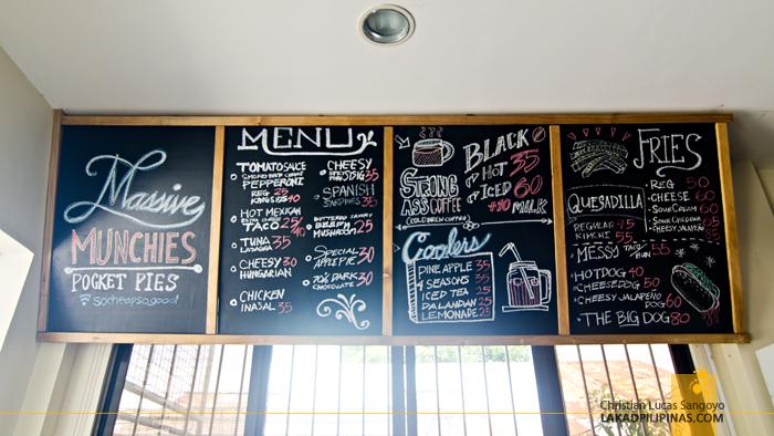 Massive Munchies Dumaguete Menu