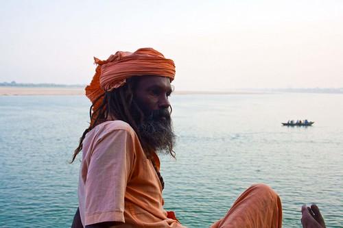 Varanasi Ghat, Uttarpradesh, India