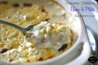 Creamy Cheesy Bacon & Potato Casserole | by laurenslatest