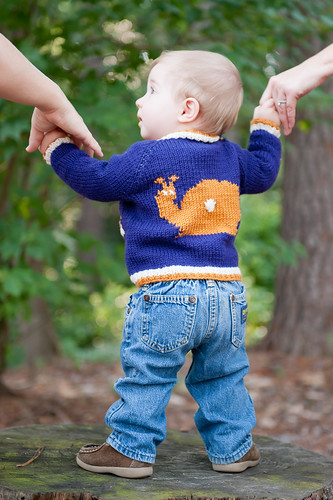 Tipped Baby Cardigan | by TotToppers