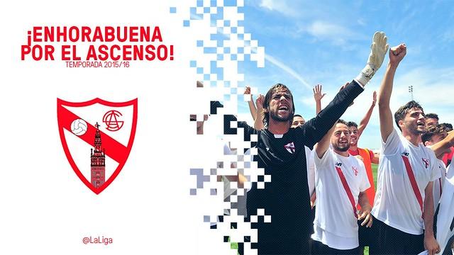 El Sevilla Atlético asciende a la Liga Adelante