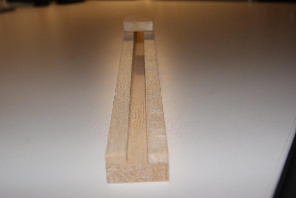 Vigas de madera de balsa flickr - Vigas de maderas ...