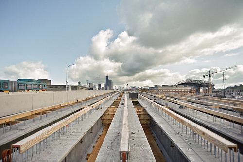 Northbound 99 bridge girders_May 10 | by WSDOT