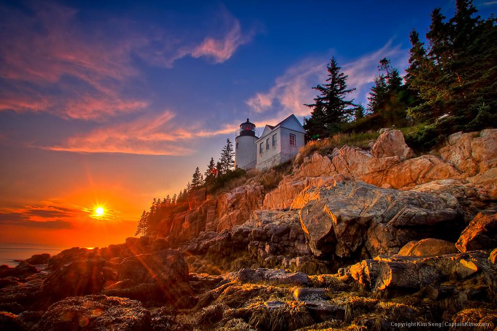 Bass Harbor Lighthouse Acadia NationalPark Maine