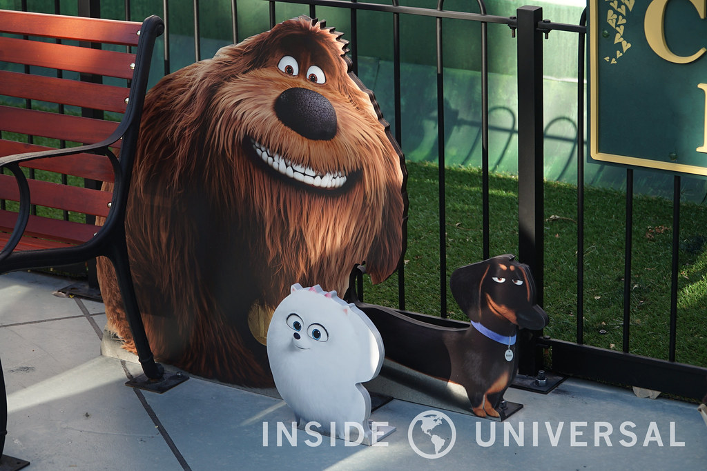 Phot Update: June 13, 2016 at Universal Studios Hollywood - Secret Life of Pets