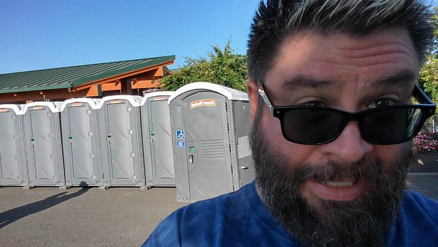 Seeing Diana Ross at #Tulalip Amphitheatre! #honeybucketselfie