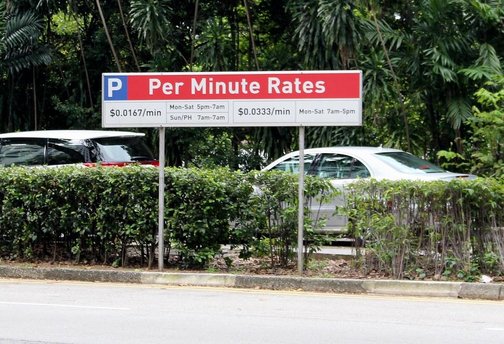 Parking rates, Singapore