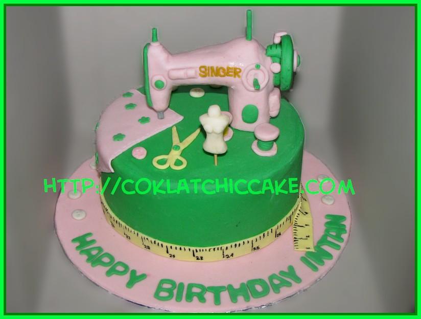 cake mesin jahit