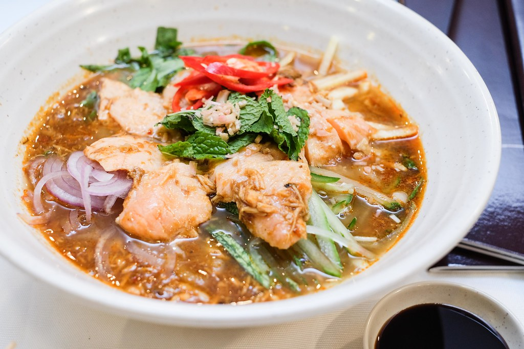 Penang Culture: Salmon Assam Laksa