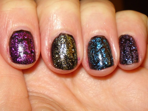 China Glaze Glitter Crackles | by styrch