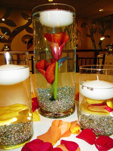 Calla Lily and Beta Centerpieces  - Lisa Greene, AAF, AIFD, PFCI | by Flower Factor