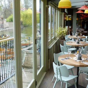 Las Iguanas Cambridge - butterflies by the river | by Ercol Furniture