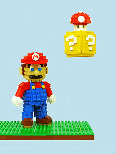 Super Mario Sculpture | by Legohaulic