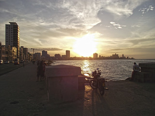 Malecon sunset | by overmoder