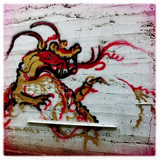 graffiti dragon | by The Golden Needle