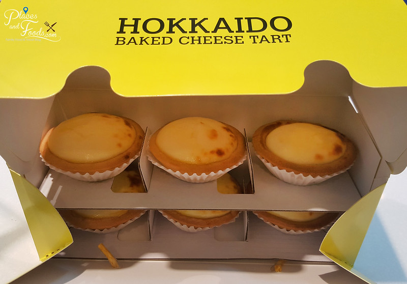 hokkaido baked cheesetart empire shopping mall box of six