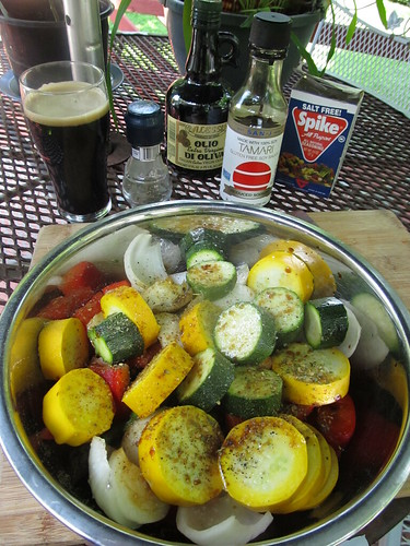 Stout-marinaded Grilled Veggies (01)