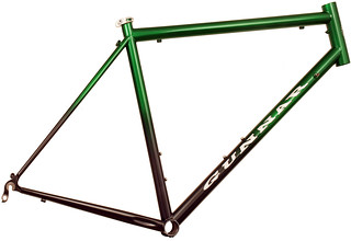 Sport With Green to Black fade | by Gunnar Cycles