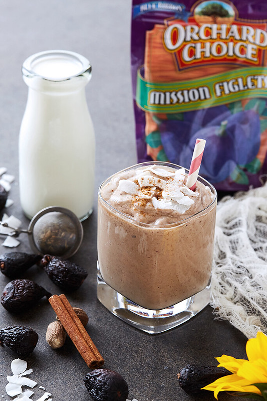 Coconut Chai Fig Smoothie