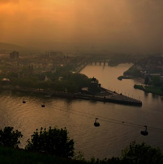 Koblenz – most beautiful corner where Rhein and Mosel river meet | by B℮n