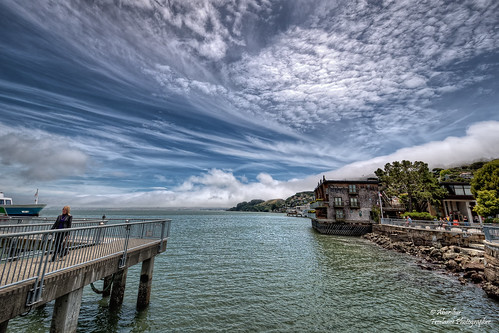 Sausalito Ferry and The Inn Above Tide Hotel. San Francisco Bay | by Abariltur