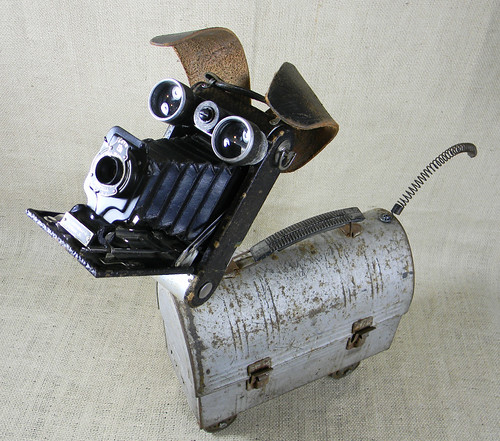 SCRUFFY - robot dog assemblage sculpture - Reclaim2Fame | by Reclaim2Fame