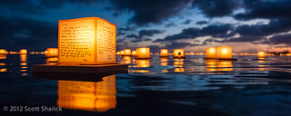 Honolulu Lantern Floating Ceremony 2012 | by Scott Sharick
