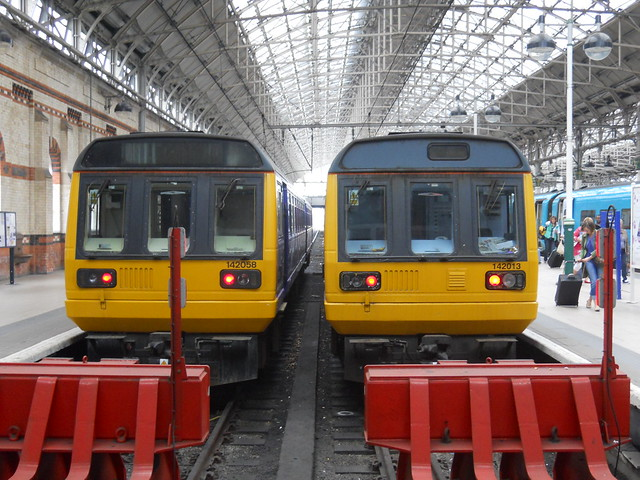 Two REAL trains
