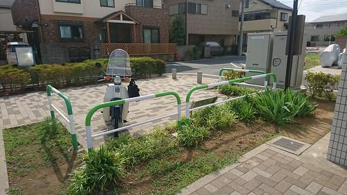2016年5月 わらびりんご公園 駐輪場