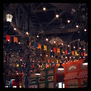 Garlands and lights, for #365days project, 180/365