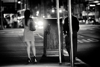 Waiting For The Bus | by RLJ Photography NYC