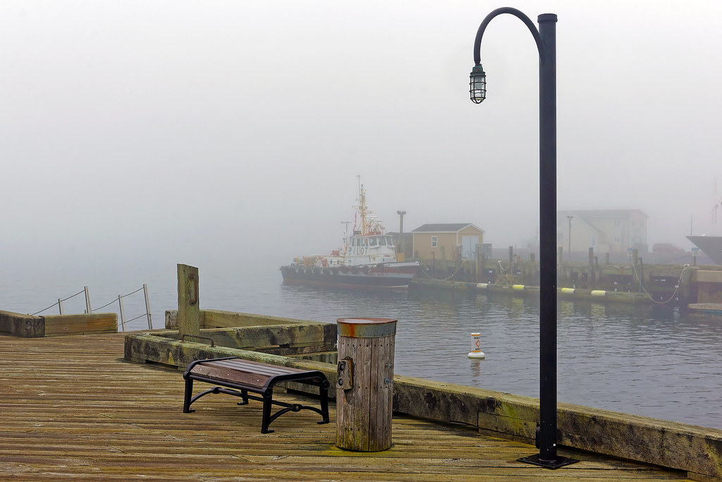 Fog On Halifax Waterfront