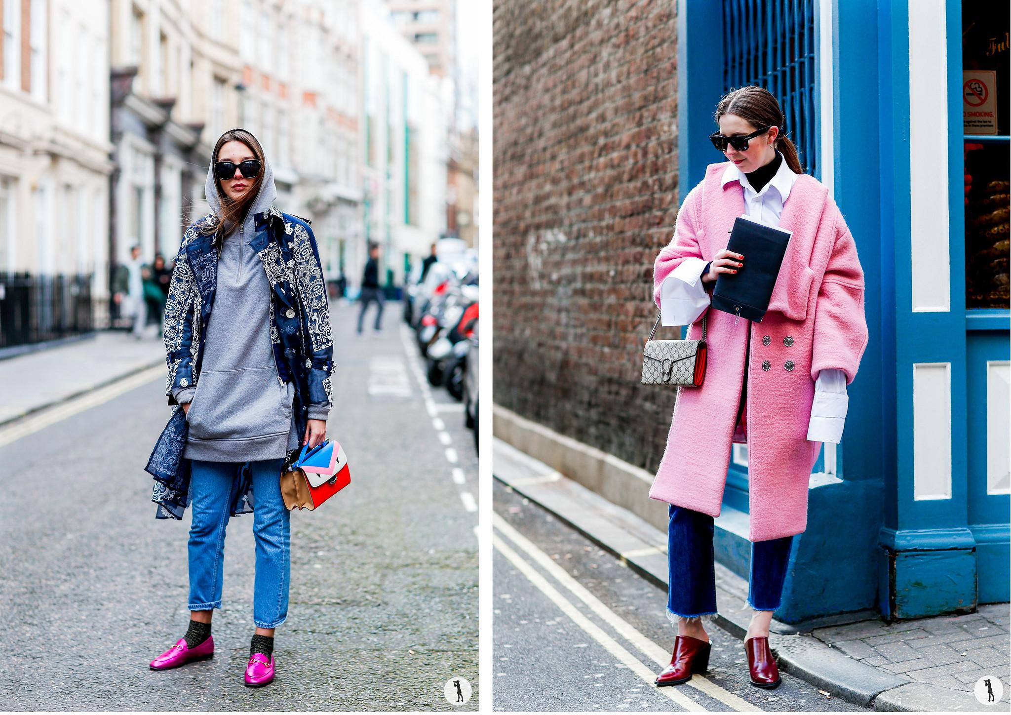 Street style London Fashion Week FW16-17
