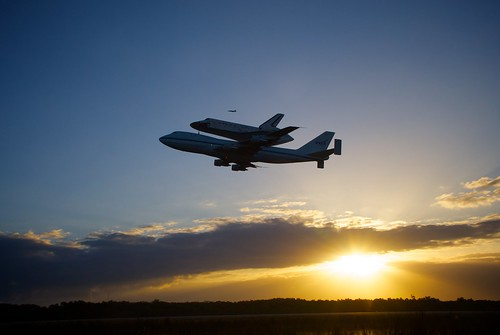 Space Shuttle Discovery Departs the Kennedy Space Center for the last time | by Lon Seidman