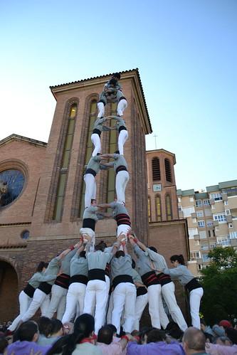 XXV Aniversari Castellers de Cornellà, 18 de juny del 2016