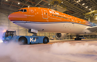 KLM B777-300ER PH-BVA The Orange Pride (KLM)