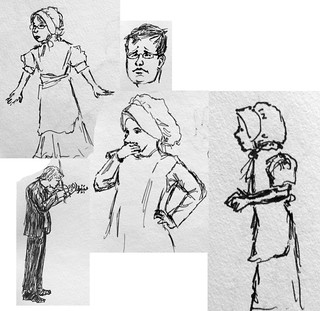 performance sketches | by olmue
