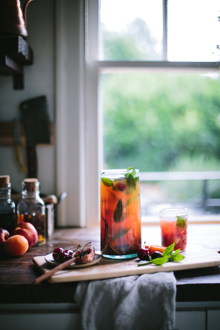 Bungalow Tea Punch by Eva Kosmas Flores
