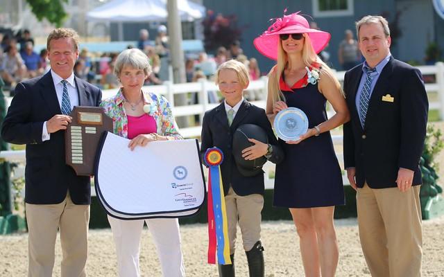 Luke Jensen Wins Devon 2016 Pony Sportsmanship Award