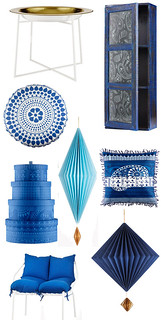 true blue by ikea | by the style files