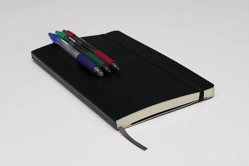 Moleskine with pens | by Hades2k